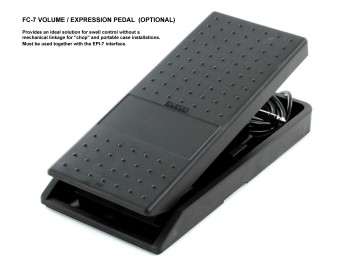 FC-7 VOLUME / EXPRESSION PEDAL