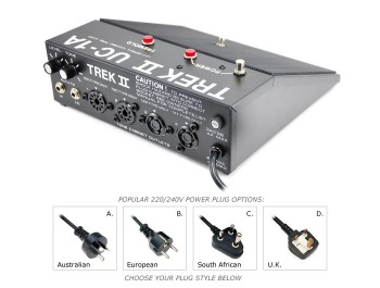 UC-1A  COMBO PRE-AMP PEDAL FOR 220/240V LESLIES